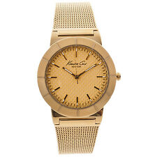 KENNETH COLE NY DRESS GOLD DIAL GOLD-TONE ST. STEEL LADIES WATCH KC4909 NEW