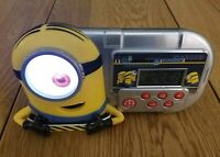 Funny Despicable Me Minion Alarm Clock/Sleep Timer with Night Light (MS-364.FE)