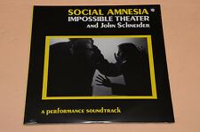 SOCIAL AMNESIA IMPOSSIBLE THEATER 2LP PERFORMANCE SOUNDTRACK 1°ST SEALED SIGILLA