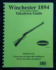 Winchester 1894 94 Carbine Rifle Takedown  Guide Radocy