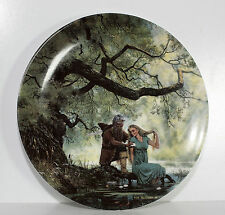 Lord of the Rings Collectors plate Wedgewood Signed Ted Nasmith Tolkien Danbury