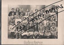 LORETTE PHOTO DE CLASSE 1957 LOIRE 42