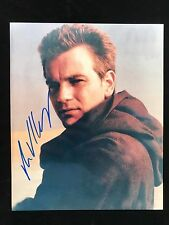Ewan McGregor Autograph - Hand Signed 8x10 Star Wars Photo - Authentic