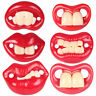 KQ_ AU_ Funny Buckteeth Big Mouth Dummy Nipple Baby Pacifier Soother Teether Toy
