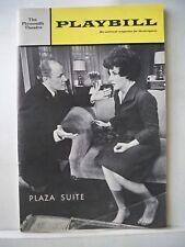 PLAZA SUITE Playbill MAUREEN STAPLETON / E.G. MARSHALL NYC 1968