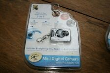New Sealed Innovage Mini Digital Camera 3-in-1 Keychain with Accessories Kit