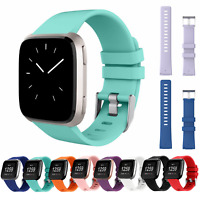 For Fitbit Versa / 2 / Lite Strap Replacement Silicone Buckle Sport Watch Band