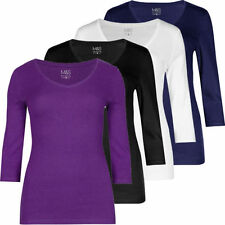 Marks and Spencer Cotton V Neck Tops & Shirts for Women