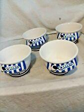 Oreo Cookie Ice Cream Shoppe Bowls - Set of 4 Ceramic
