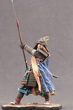 "Tin toy soldiers ELITE painted 90mm samurai, warrior with ""naginata"""