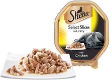Sheba Select Slices with Chicken Slices in gravy  22 x 85g