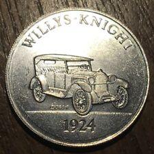 JETON TOKEN ANTIQUE CAR COIN SÉRIE 2 WILLIS KNIGHT 1924 (429)