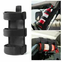 Car Roll Bar Fire Extinguisher Holder Mount Bracket For Jeep-Wrangler V7F2