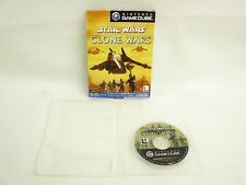 Game Cube STAR WARS THE CLONE WAR No Instruction ccnc Nintendo Japan Boxed gc