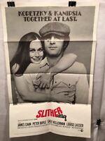 "Original 1973 ""Slither"" 1 Sheet Movie Poster 27""x 41"" James Caan Peter Boyle"