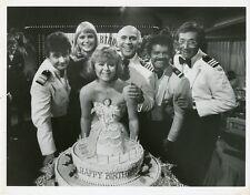 GAVIN MACLEOD PAT KLOUS JILL WHELAN BERNIE KOPELL THE LOVE BOAT '81 ABC TV PHOTO