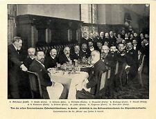 Prima conferenza internazionale tubercolosi a Berlino Fränkel letulle Paris... 1902