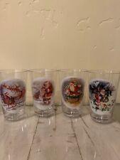New Pottery Barn Kids Nostalgic Santa Set Of Four Tumbler Cup Christmas