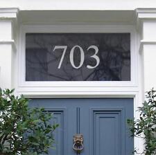 Etiqueta del vinilo Pegatina Número Puerta - (máximo 3 números)