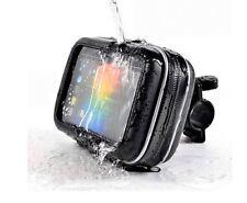 "Waterproof Bike/Motorcycle Case Mount Holder For Phone 5"" Garmin Nuvi TomTom GPS"