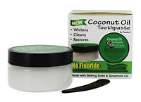 Cocodent Coconut Oil Toothpaste with Baking Soda & Spearmint from Greensations