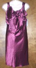 A.B.S. BY: ALLEN SCHWARTZ BURGUNDY COCKTAIL DRESS~ SZ 10~NWTGS $295