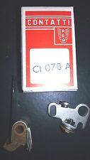 CONTATTI PUNTE PLATINATE CONTACT BREAKER POINT CI078A 01.3235 DANSI BENELLI REA