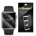 6X EZguardz NEW Screen Protector Skin Cover Shield 6X For Apple Watch Sport 42mm