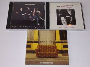 THE CRANBERRIES 3 CD Singles Lot - Can't Be With You, Linger, Everybody Else