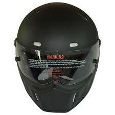 DOT Motorbike ATV Street for Bandit Karting Racing Full Face Helmets Black S-XXL