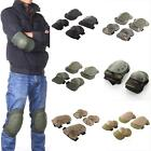 Tactical Military Paintball Skate Elbow Knee Pads Airsoft Combat Protective Set