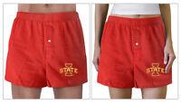 IOWA STATE Boxers ISU Cyclones Boxer Shorts GREAT AS PAJAMAS or SLEEP SHORTS