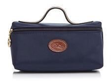 Longchamp Le Pliage Cosmetic Case bag Nylon pouch ~Navy~ $55