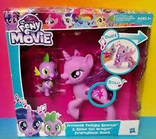 My Little Pony Princess Twilight Sparkle Spike Dragon Friendship Duet New Sealed