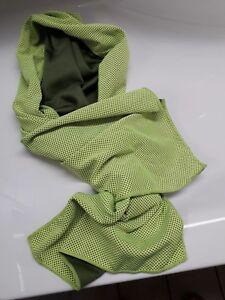 Angebot Kühltuch grün ICE-Tuch Kühltücher Kühlhandtuch Cool Towel Sport walken