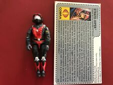 1986 Strato Viper MIP MOC SEALED Factory Complete Red Back Night Raven Driver