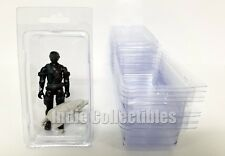 GI JOE BLISTER CASE LOT OF 10 Action Figure Display Protective Clamshell MEDIUM