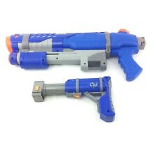 RARE Large Nerf Super Soaker Shot Blast Shotgun Water Gun Pistol Shoulder Stock