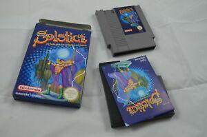 Solstice NES Spiel CIB (neuwertig) #1206