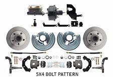 Mopar A Body Standard Power Disc Brake Conversion for Smaller 5x4 Bolt Pattern