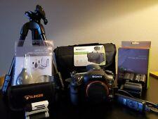Sony Alpha A99 II 42.4MP/12 fps Digital SLT Camera - Black (Body Only) + EXTRAS