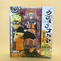 "NEW  Uzumaki Naruto Figuarts(SHF) pvc ACTION FIGURE 6"" IN BOX"