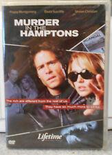 Murder in the Hamptons (DVD, 2006) RARE LIFETIME 2005 TV CRIME MYSTERY BRAND NEW