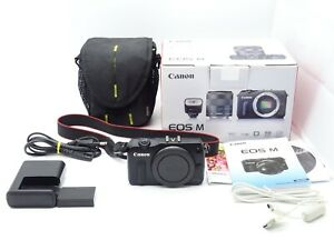 Canon EOS M Digitalkamera Schwarz 18 MP Full HD - OVP -Vom Händler-