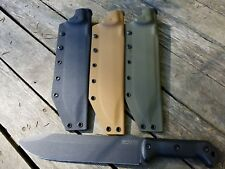 Valhalla Custom Kydex Sheath Ka-Bar Camillus Becker 9 BK9 COYOTE BRN SHEATH ONLY
