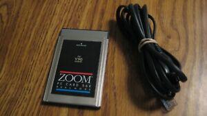 ZOOM Laptop 56K Dual Mode ITU v.90 Model 2975L Fax Modem With Cable