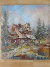 Haus Dom Goralski Zakopane Zofia Ryniak - Brzekowa Rzeszów Polen 1983