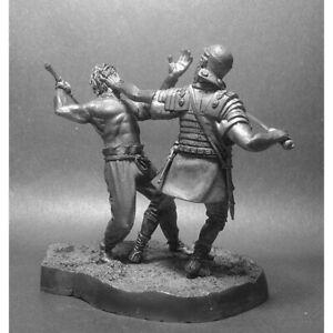 Trajan's Dacian Wars Foot Warriors 101-106 AD 1/32 Scale Unpainted Tin Figure