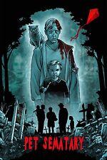 Stephen Kings Pet Semetary Movie Poster Version C 13x19