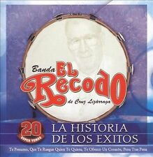 FREE US SHIP. on ANY 2+ CDs! ~Used,Good CD Banda El Recodo: Historia De Los Exit